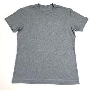 Men's Lululemon Athletic Gym shirt Gray XL